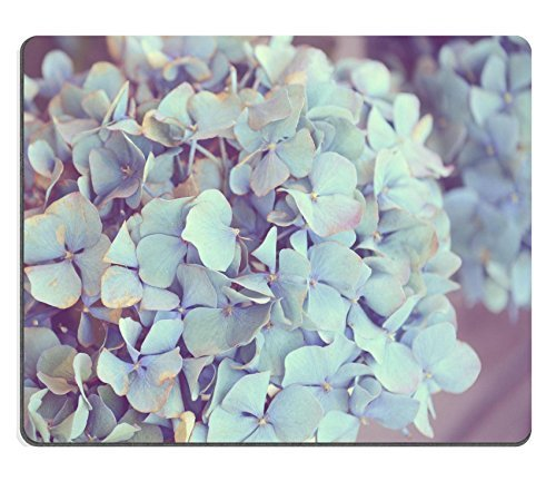 (MSD Natural Rubber Gaming Mousepad Dreamy image of Hydrangea flower IMAGE 23318288 )
