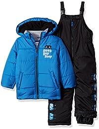 Boys' Heavyweight Bubble 2-Piece Snowsuit