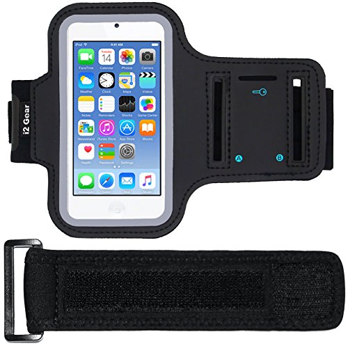 i2 Gear Armband Case for Apple iPod Touch 6G - Black Matte