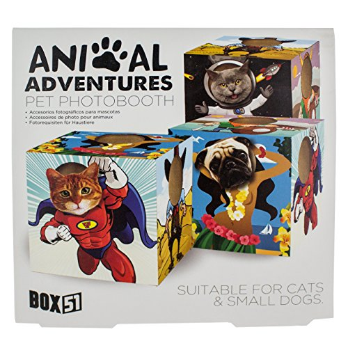 [Paladone Animal Adventures Pet Photo Booth Frame] (Costumes Out Of Cardboard Box)
