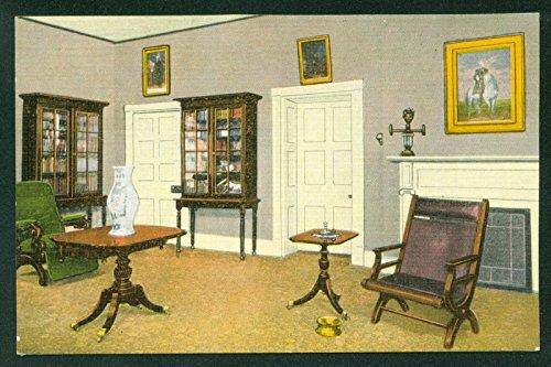 Framed Tn Nashville (Home of General Andrew Jackson Office Room Hermitage Nashville Tennessee TN Vintage Postcard)