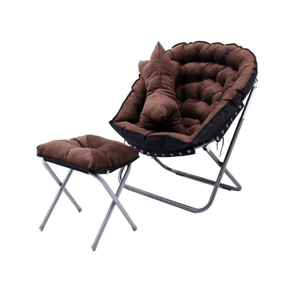 T12 XUERUI Chairs Chair Deck Footrest Cushions Sunloungers Foldable Reclining Lounger Sofa Camping Lounge Back Support Furniture (color   T6)