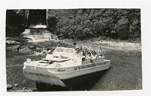 Amphibian Susan Wisconsin Dells Real Photo Postcard Duck Car Land and ()