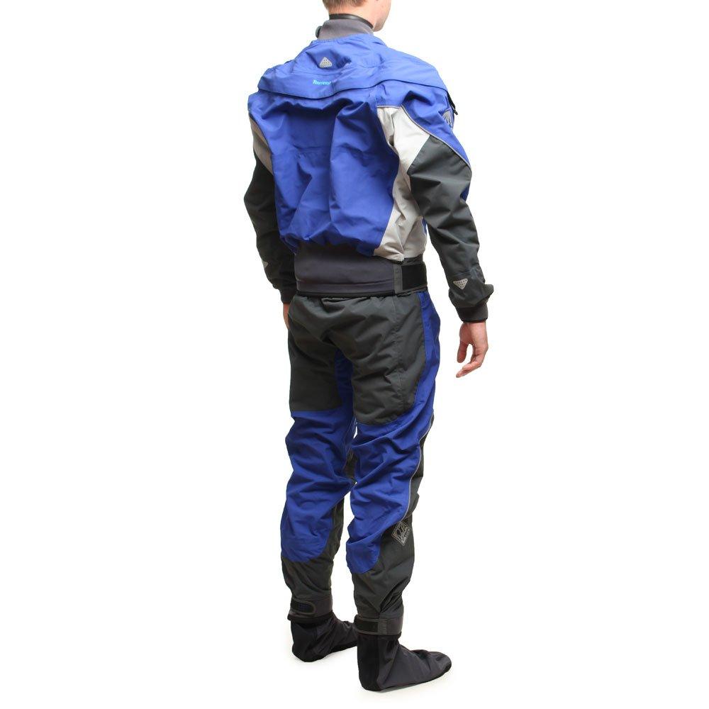 Palm Torrent Drysuit in Blue/Jet Grey/Mist Inc UNDERFLEECE