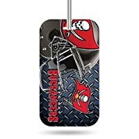 NFL Crystal View Team Luggage Tagnfl Crystal View Team Luggage Tag, Steel Blue, 7.5 x 3 x 0.5