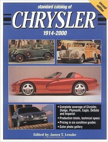 Book Standard Catalog of Chrysler, 1914-2000 (2000-03-24)