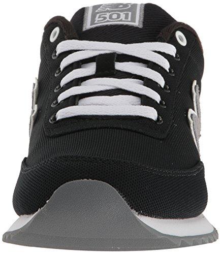 Men's MZ501 Pique Polo Fashion Sneaker, Nero / Gunmetal, 7 2E US