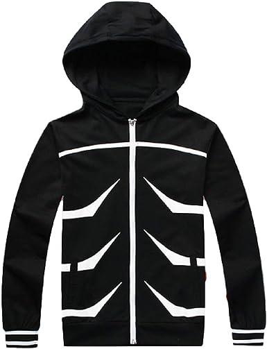 New Anime Tokyo Ghoul Cosplay Costume Hoodie Sweater Jacket Men Casual Coat Tops