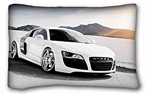 Custom Characteristic Nature Custom Zippered Pillow Case 20x30 inches(one sides) from Surprise you suitable for Queen-bed