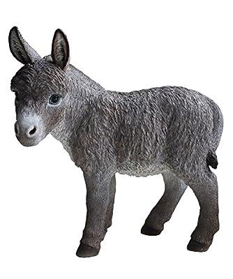 "Hi-Line Gift Ltd Donkey Garden Statue, 20"""