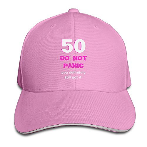 Funny 50th Birthday Card Menswomens Classic Trucker Hat Baseball Cap