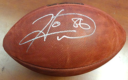 HINES WARD AUTOGRAPHED SUPER BOWL LEATHER FOOTBALL PITTSBURGH STEELERS PSA/DNA STOCK #91479