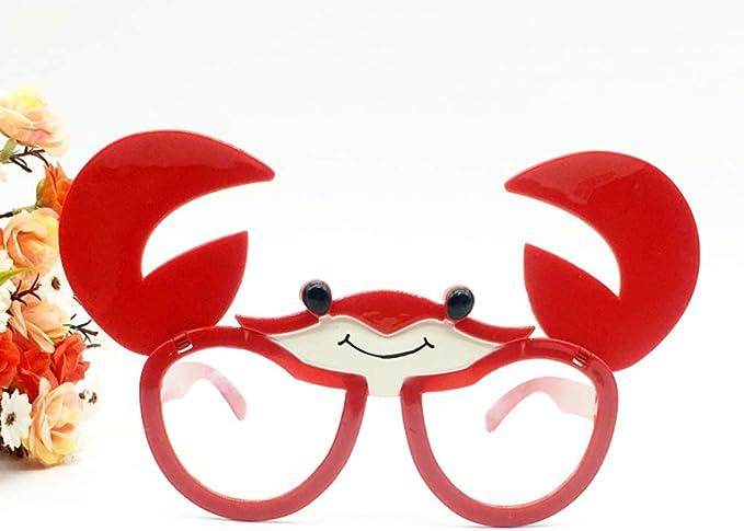 OoB Gafas de Sol Divertidas Plegables para Disfraz de Cangrejo ...