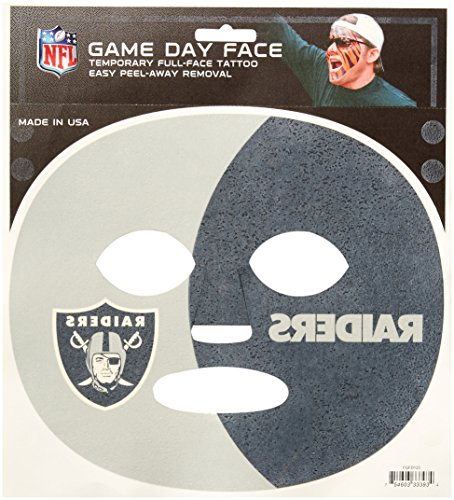 NFL Oakland Raiders Game Day Face Decal