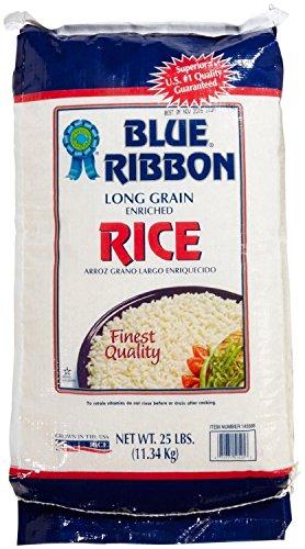 Blue Ribbon Long Grain Rice, 25 Pound by Blue Ribbon