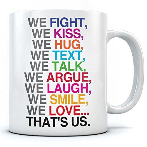 Buy Ramposh Love You Husband Printed Ceramic Coffee Mug For Husband