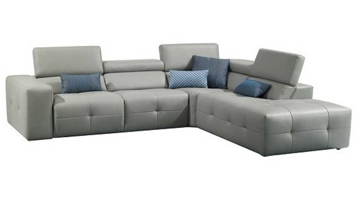 Amazon Com J M Furniture S300 Leather Right Facing Sectional Sofa