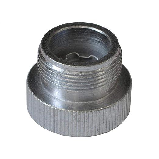 Faithfull GZ170 - Adaptador de cilindro de gas de CGA600 a EN417