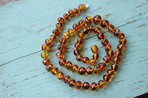 Authentic Baltic Amber Necklace 17,5''