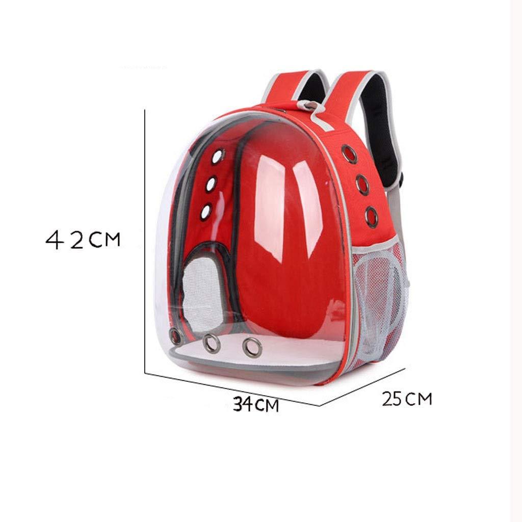 285db94c73fb Yellow 34x25x42cmMTFZD Space Capsule Bubble Design Pet Backpack ...