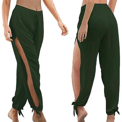 Amazon.com: wodceeke Pantalones de yoga deportivos para ...