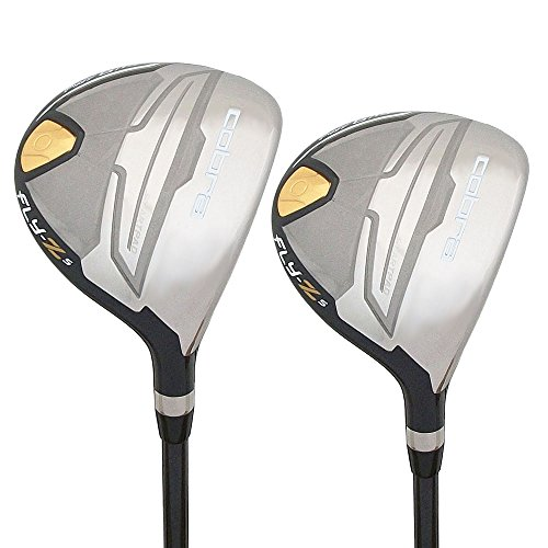 Cobra NEW Golf FLY-Z S 3 & 5 Wood Set Lite Flex Cobra Woods