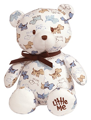- Baby GUND x Little Me Cute Puppies Teddy Bear Stuffed Animal Plush, 10
