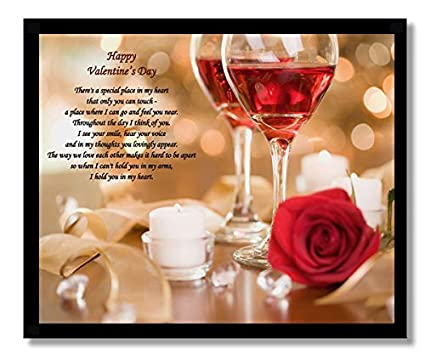 Amazon Com Valentine S Day Gift For Him Or Her Romantic Love Poem