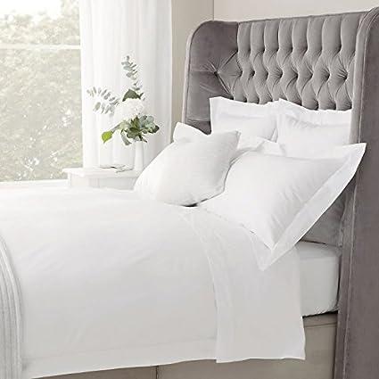 1000 Thread Count New Egyptian Cotton All Bedding Items /& Sizes White Stripe