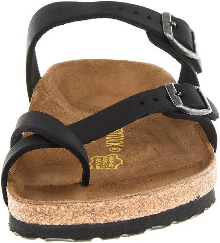 Birkenstock Women's Mayari Leather Thong Sandal,Black,EU Size 37 / Women's US Size 6-6.5 by Birkenstock (Image #4)