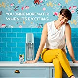 SodaStream Fizzi Sparkling Water Maker, Icy Blue