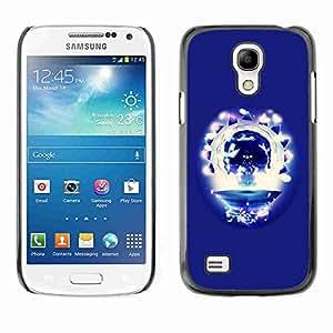 Planetar® ( Party Skull ) Fundas Cover Cubre Hard Case Cover Samsung Galaxy S4 MINI / i9190 / i9192