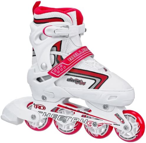Roller Derby Girl s Cheetah S4 Adjustable Inline Skates
