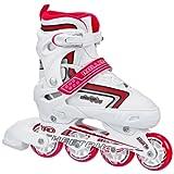 Roller Derby Girl's Cheetah S4 Adjustable Inline Skates