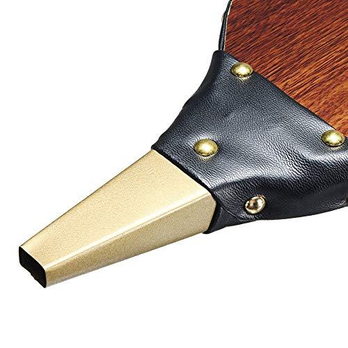 HermosaUKnight Ventilatore dAria Manuale in Legno dEpoca Ventilatore per soffietti per Barbecue allaperto-Marrone Scuro