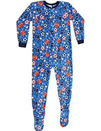 Boys Ultra Soft Microfleece One-Piece Pajamas/Blanket Sleepers