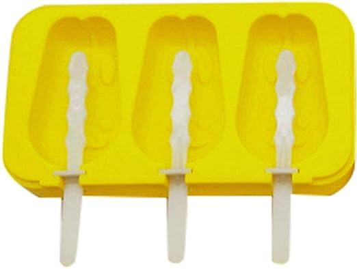Compra Somedays Molde de silicona para polos de hielo con tapa ...