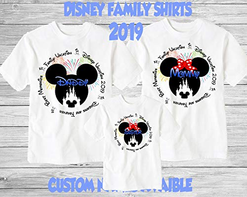 Amazon Disney Family Shirts ShirtsDisney Mickey MinnieCustom T ShirtPersonalized For Matching