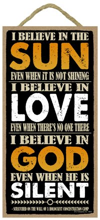 if i don t believe in love