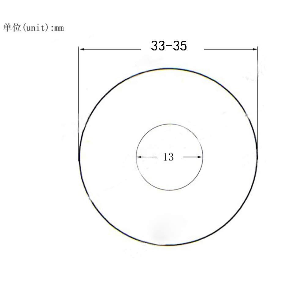 Babysbreath17 Mini 7.2x4.9x2cm Revestimiento del estante de exhibici/ón de acr/ílico para cepillos de u/ñas 5 Rejillas Pen Stand Stents soporte de puntas de herramientas Organizador Oro