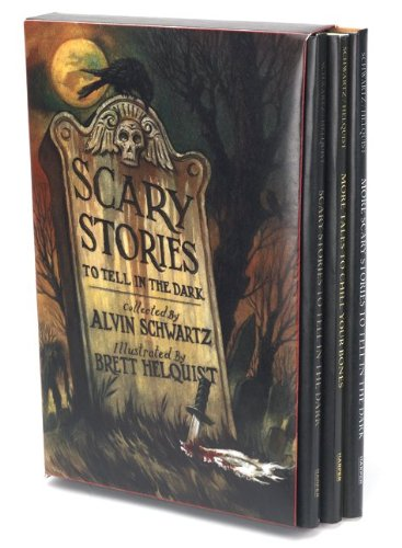 """Scary Stories Box Set - Scary Stories, More Scary Stories, and Scary Stories 3"" av Alvin Schwartz"