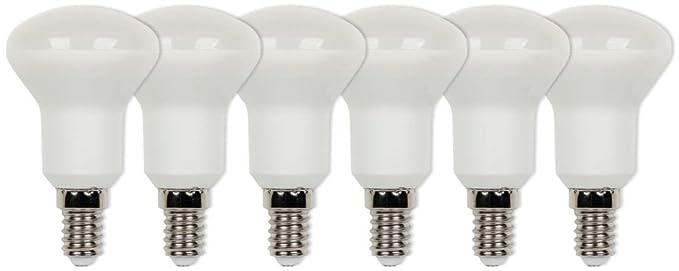 Westinghouse Pack de Bombillas LED Atenuable con Forma R50 E14, 5 W, Blanco Cálido