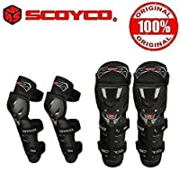 Scoyco K11H11-2 Bike Riding Knee and Elbow Guard Set of 4-Black
