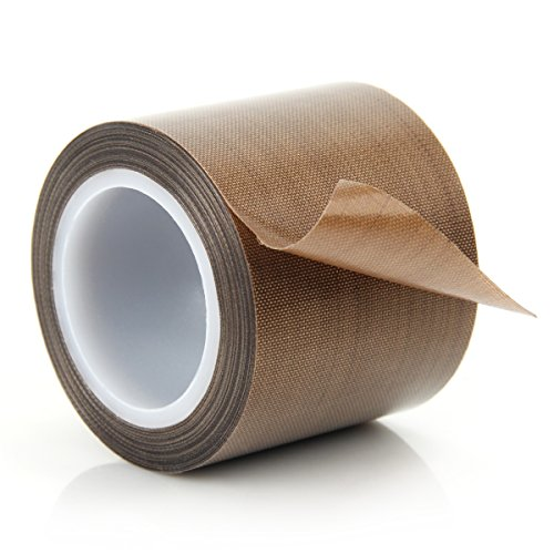 Ptfe Seal Tape (Teflon Adhesive Tape Vacuum Machine Sealing Tape PTFE Coated Fiberglass Tape ( 2 inch x 11 yards ))