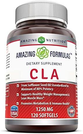 Amazing Formulas CLA 1250 Mg Supplement