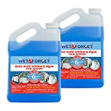 Wet & Forget Outdoor Cleaner, 1 Gallon Concentrate Makes 6 Gallons- 2 Pack