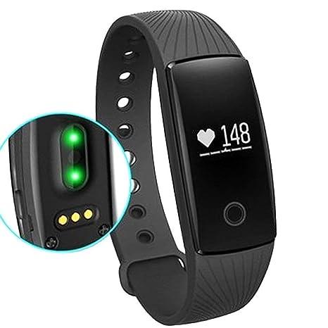 Willful Orologio Fitness Tracker Cardiofrequenzimetro da Polso Smartwatch  Donna Uomo Bambini Sport Activity Tracker Pedometro Braccialetto