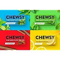 Chewsy Goma De Mascar Colección De Sabores| Chicles Naturales Sin Plástico | Chicles Sin Azucar Y Aspartamo | 100…