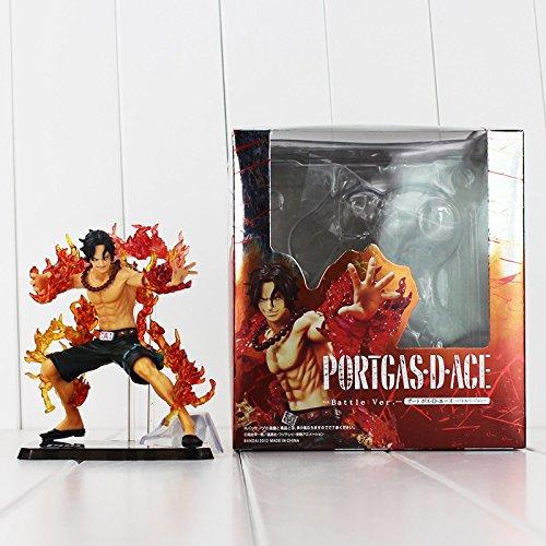 Anime One Piece ZERO Portgas D Ace PVC Action Figure Model Collection Toy 12CM Battle Ver.