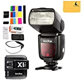 GODOX TT685F HSS 2.4G TTL GN60 Camera Flash Speedlite High-Speed Sync External TTL For Fujifilm Camera X-Pro2 X-T20 X-T1 X-T2 X-Pro1 X100F,GODOX X1T-F Flash Trigger Transmitter for Fuji DSLR Cameras
